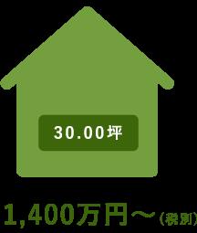 1,400万円〜(税別)